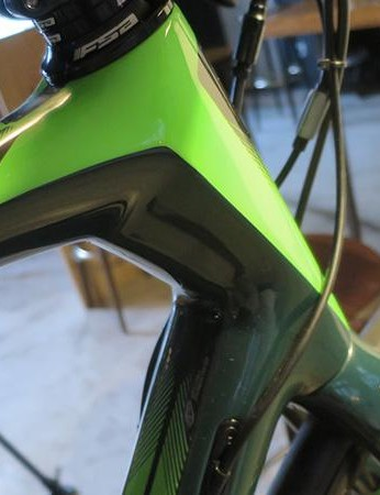 You can see the influence of other Focus models – including the Raven hardtail MTB – in the Paralane's tube shapes