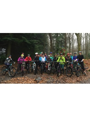 More than 60 riders came along for the Hope Tech Women's Ride at the Forest of Dean last weekend
