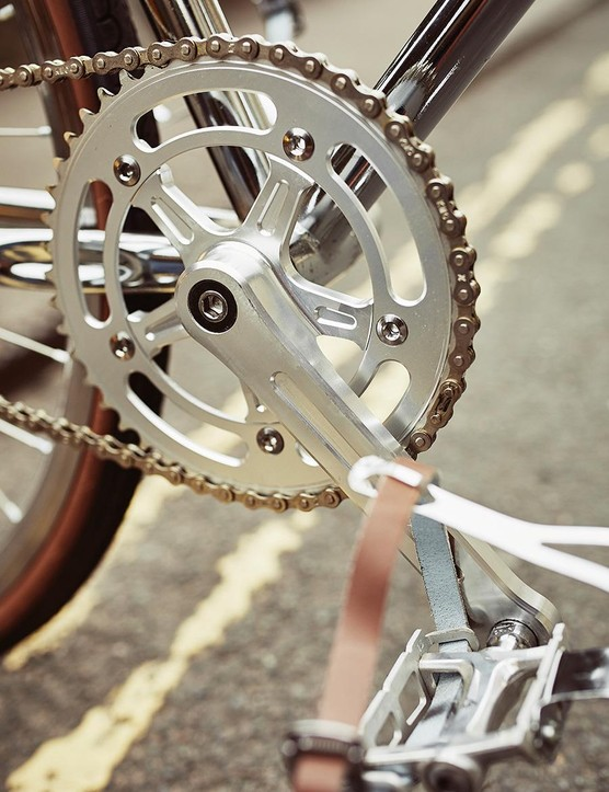 The Premium comes with built-in chain tensioners