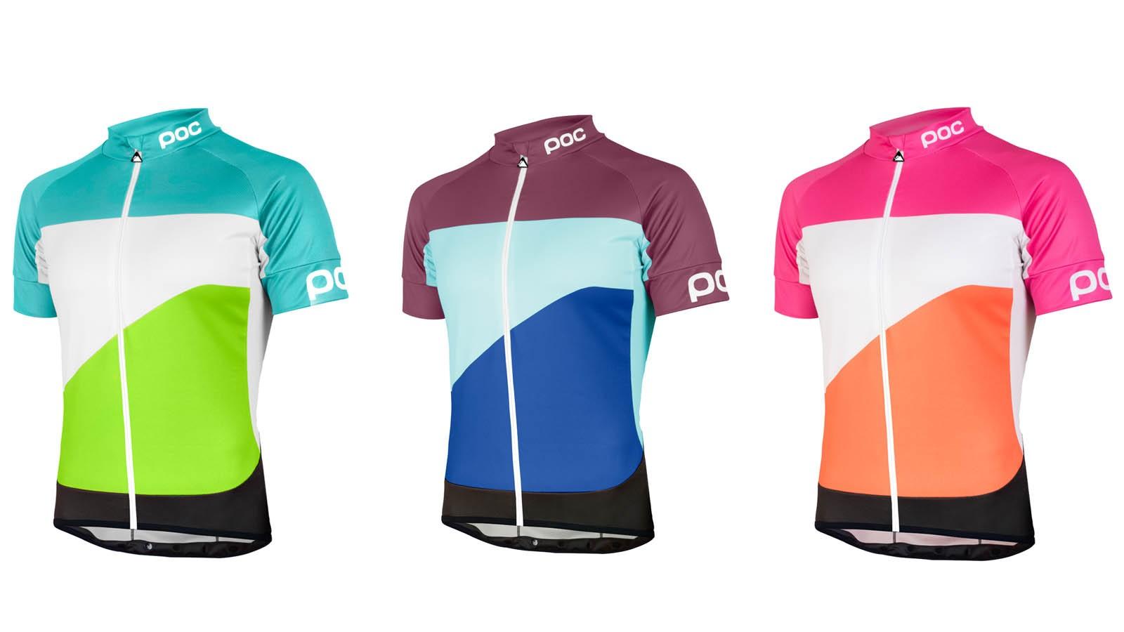 POC's new Fondo gradient jerseys celebrate the Passo dello Stelvio, Alpe d'Huez and Muur van Geraardsbergen