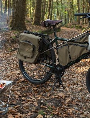 The Forager bike in action