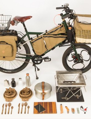 The hand-built Forager bicycle