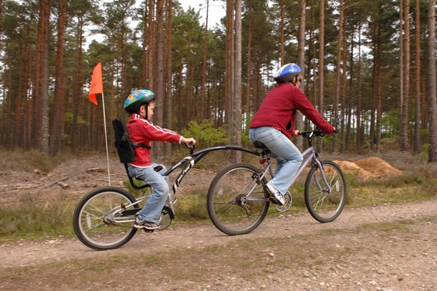 The Forestry Commission is keen to promote the south west as a premier off road biking region
