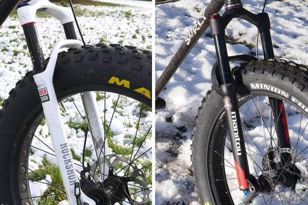 Battle of the forks: RockShox Bluto RL vs Manitou Mastodon Pro