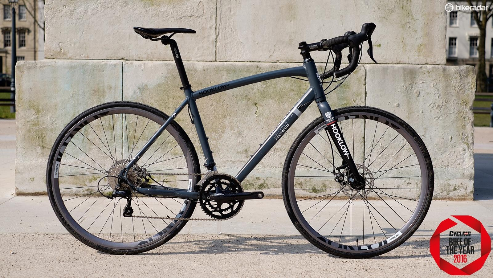 Forme's Hooklow 2 is a weighty but tough and comfy bike