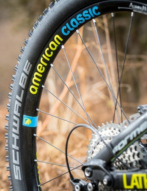 The American Classic wheelset adds repsonsiveness