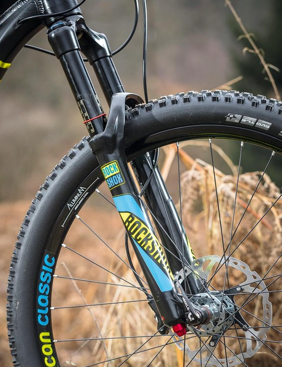RockShox suspension leads to confident handling