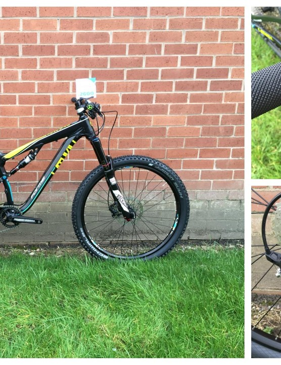 Forme names its bikes for areas in the Peak District, where the company is based. The Lathkill MTB comes with a RockShox Pike fork, Hans Dampf tyres and trail-oriented geometry