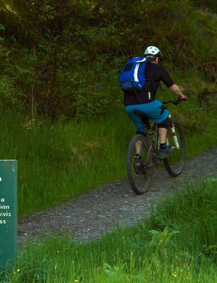 The Nevis Range includes a network of graded green, blue and red trails to suit every level of rider
