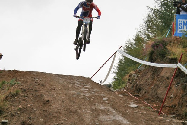 Action from last year's world's at Fort Bill