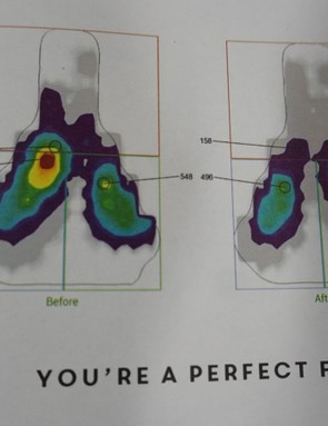 Sit-bone width is known to vary from rider to rider. But this system also accounts for an individual's unique bone structure and posture on the bike