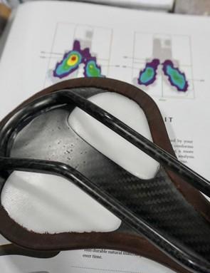 The Landyachtz Forum saddle molds to the shape of your sit bones