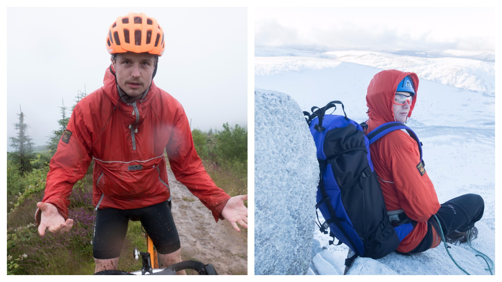 I've even taken the jacket winter mountaineering, though the very, very grimy Grinduro may have been its hardest challenge
