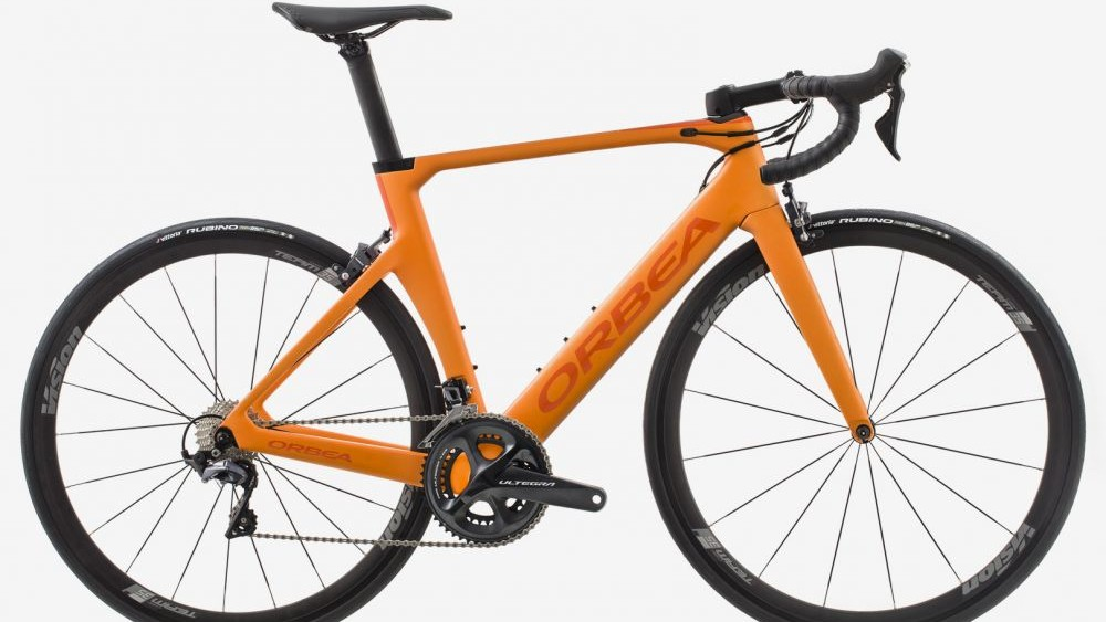The bike is available in orange too
