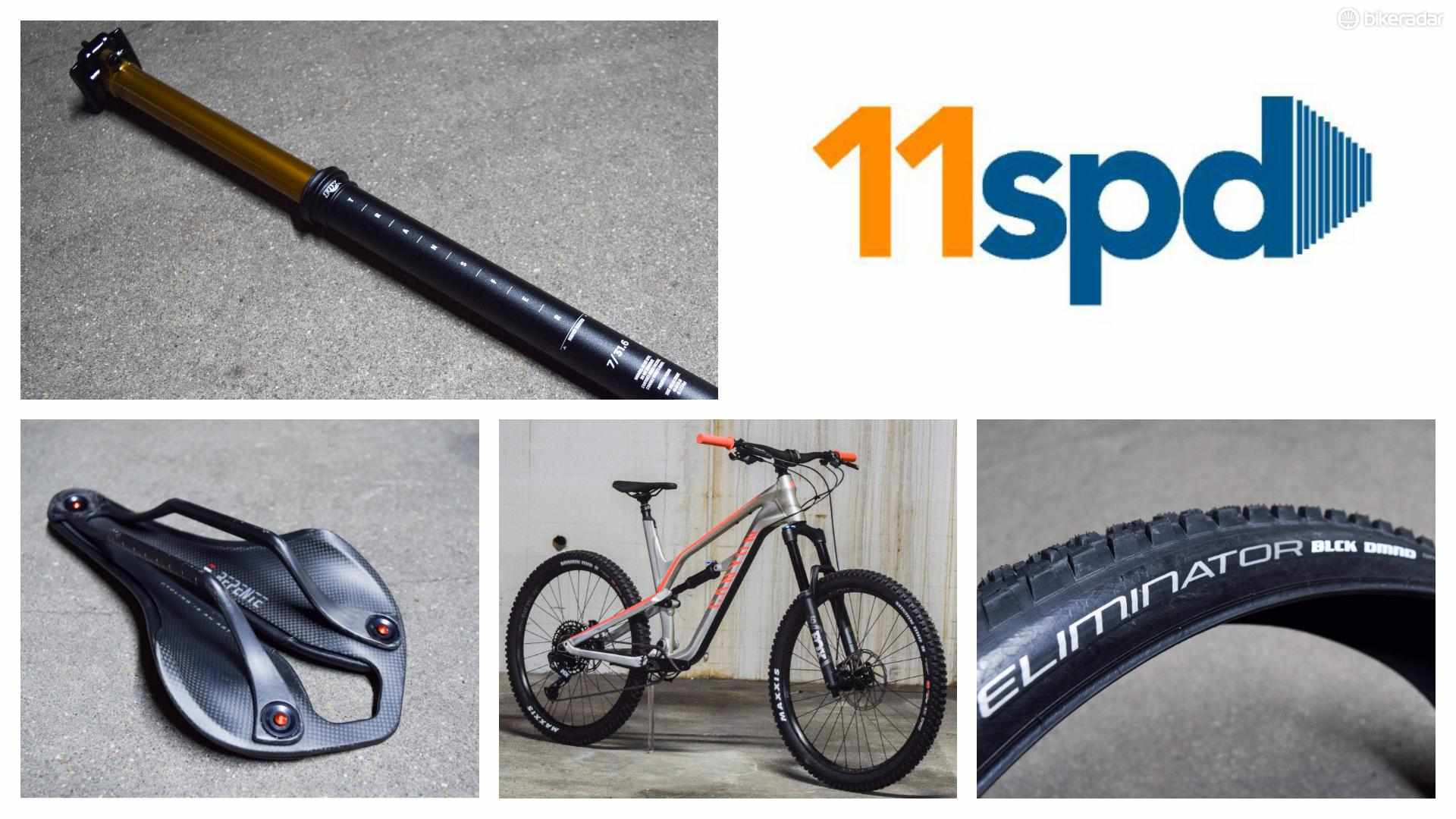 This week's 11spd is packed with top kit