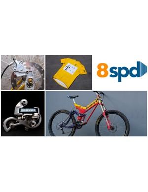 8 Speed: bike gear from yesteryear