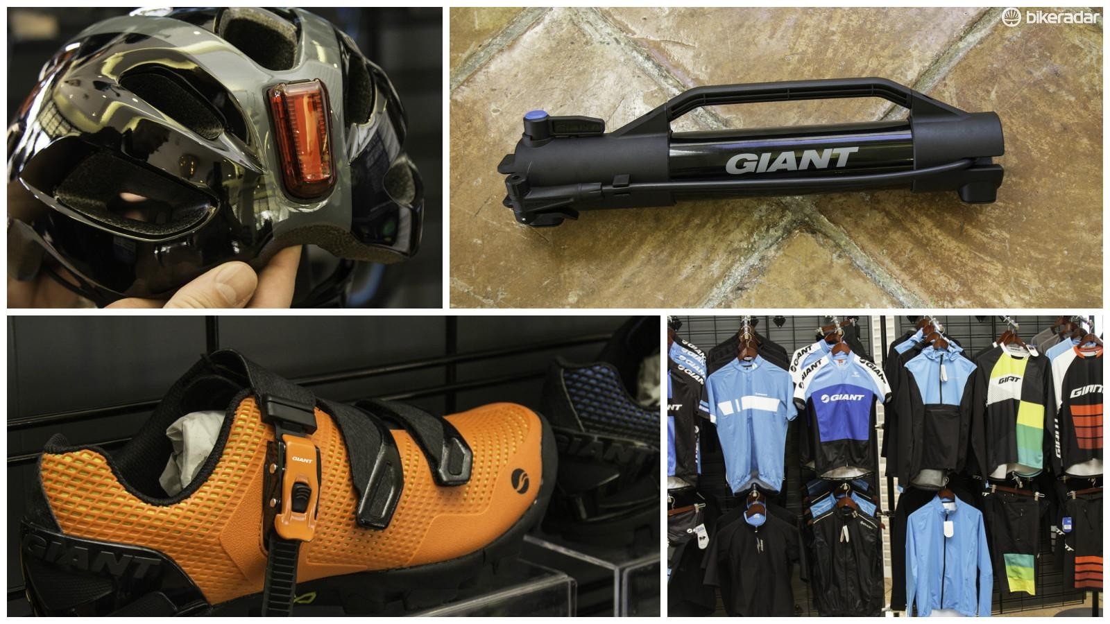 Check out the highlights of Giant's 2017 parts and accessories range