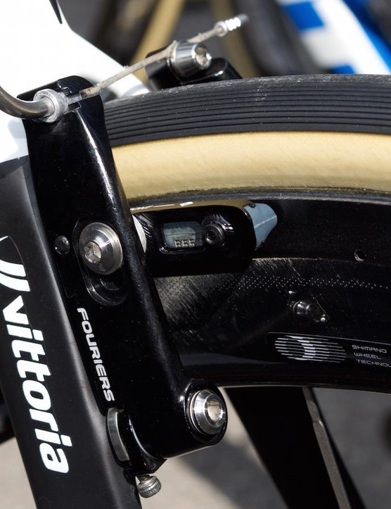Giant-Alpecin were equipped with Fourier's direct-mount aero V-brakes