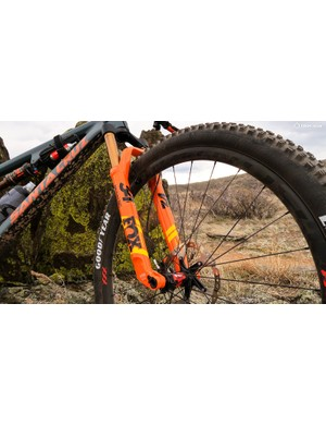The 34SC is a great companion to today's lightweight trail bikes