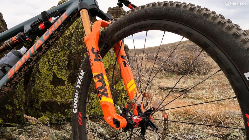 Fox 34 Step-Cast Float FIT4 Factory 29 fork review - BikeRadar