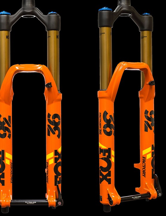 The Factory 36 Float is a highly-tunable all-mountain / enduro fork