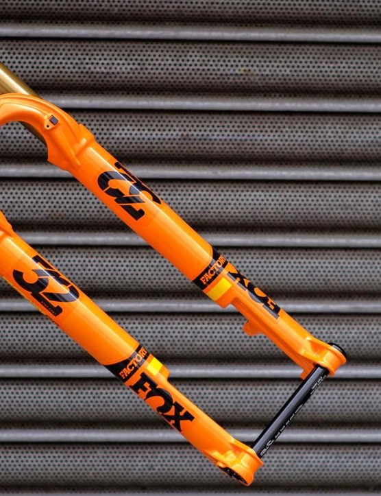 Fox 32 Step-Cast suspension fork is significantly lighter than anything Fox has produced to date
