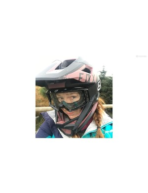 A full-face helmet that feels as comfy and light as a trail shell? Pretty much!