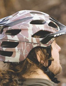 The Fox Flux helmet