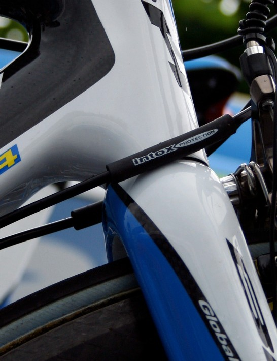 There are a few pro riders out there that care about their bike's paintwork.