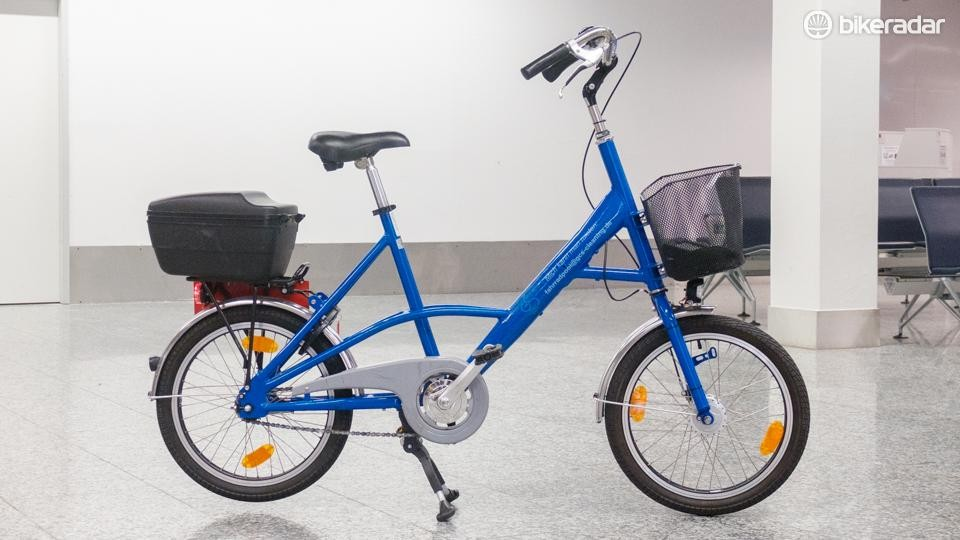 The quirky bike is unashamedly uncool