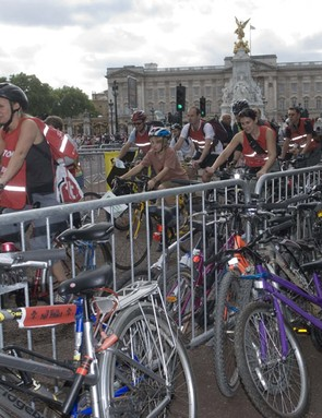The Freewheel takes in some of London's most famous landmarks