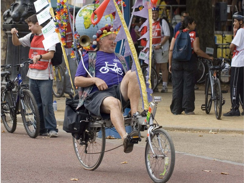 The London Freewheel attrracted riders of all persuasions last year