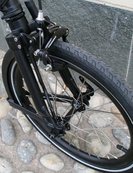 Front cailiper brake