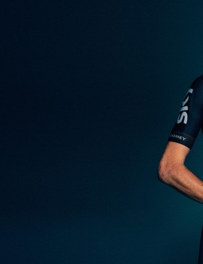 Chris Froome gets kitted out for 2017
