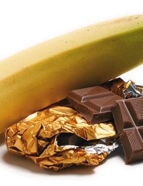 Bananas or chocolate? The former is a good mid GI option