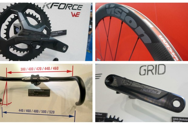 FSA is expanding its super-compact chainset range for 2018