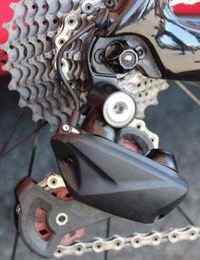 This FSA derailleur popped up at the 2016 Tour de France