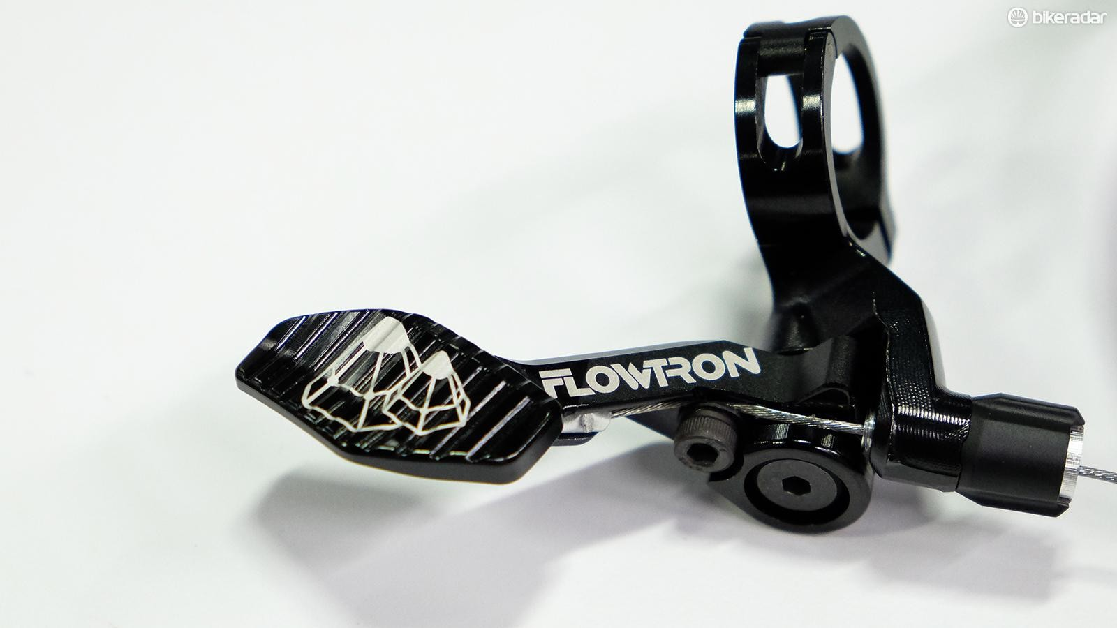 FSA didn't want to lose sales to aftermarket dropper levers, so it focused on making a well-designed lever