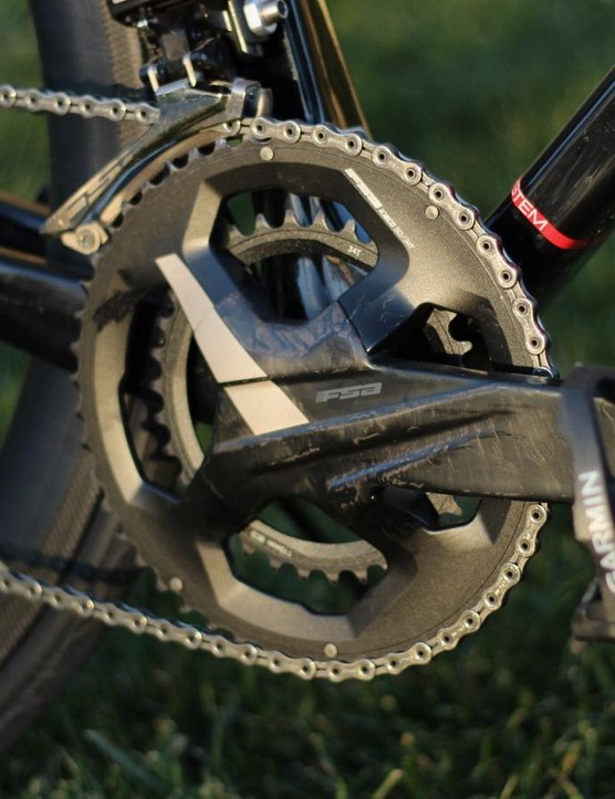 The cranks come in a whopping six lengths, in all three standard chainring combinations (50/34, 52/36 and 53/39)