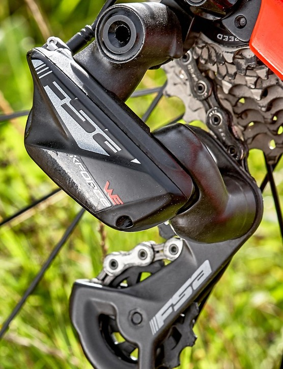 The derailleur delivers punchy, fast and accurate shifts