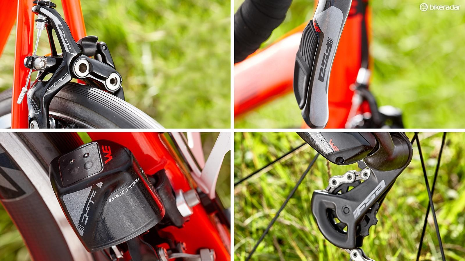 FSA K-Force WE electronic groupset
