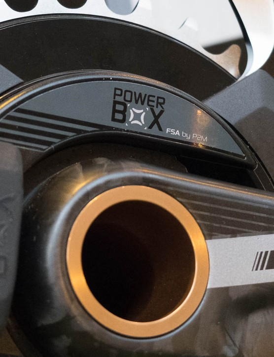 Power2Max has left its mark on the cranks