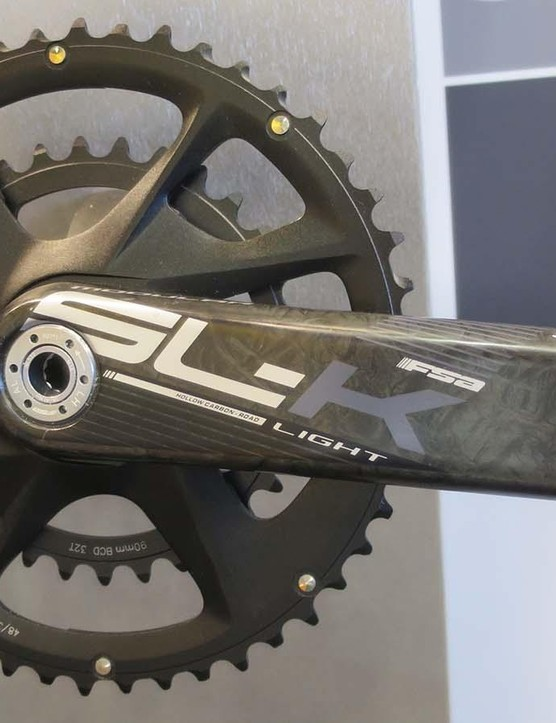 The SL-K modular crankset comes in two super-compact options