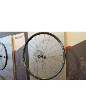 FSA also unveiled a higher level SL-K model of the AGX wheelset