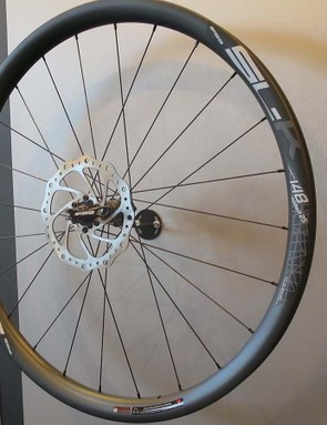 The SL-K AGX also has a wider option and upsizes the rim to 30mm deep and wide