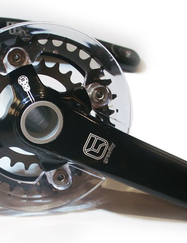 Gravity racing freeride chainset