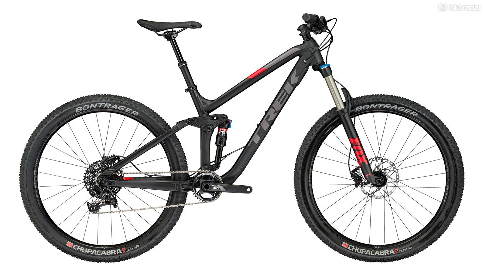 The Trek Fuel EX 8 27.5 Plus