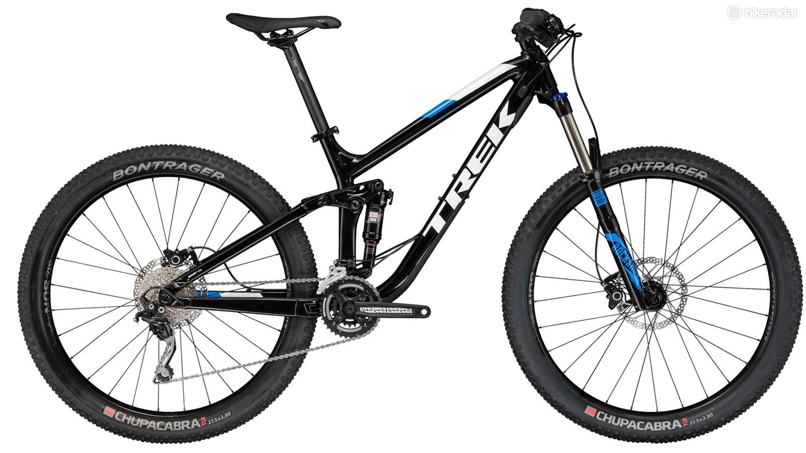 The Trek Fuel EX 5 27.5 Plus