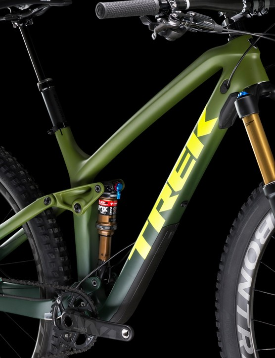 This Fuel EX's green on green Full Fade is subdued and classy