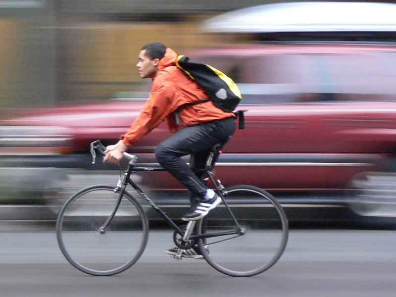 Commuters are increasingly swapping four wheels in favour of two